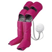 ◆足先からひざ周り、太ももまで脚全体をしぼり上げマッサージ ◆温感ヒーターと足裏用パッドで足先を温め...