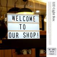 レトロな雰囲気を楽しめる電光掲示板♪LED Light Box(LEDライトボックス) 3167 テ...