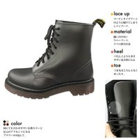 レインブーツ M/L/LLサイズ レディース/防水/レースアップ/長靴/おしゃれ/レインシューズ 通勤 通学 普段履き レインシューズ 長靴