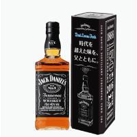 ジャック ダニエル ブラック700mlがオリジナルメタル缶に入った商品です。ジャック ダニエル 蒸溜...