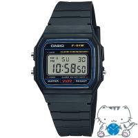 国内正規品 CASIO STANDARD カシオ スタンダード ベストセラー 軽量 薄型 ブラック ユニセックス腕時計 F-91W-1JH