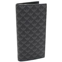 エンポリオ・アルマーニの2つ折り長財布です     素材:YO23J PVC   カラー:86526...
