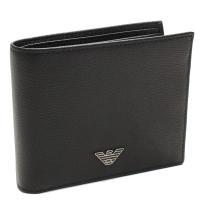 エンポリオ・アルマーニの二つ折り財布です     素材:YAQ2E レザー   カラー:81072 ...