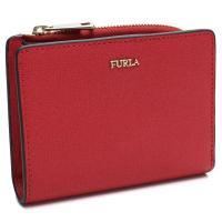フルラの2つ折り財布です    素材:レザー  カラー:RUB RUBY レッド系   サイズ:W1...
