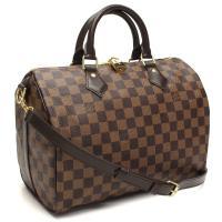 ルイ・ヴィトンのミニボストンバッグです     素材: ダミエ スピーディ・バンドリエ  ダミエ・エ...