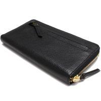 トリーバーチ TORY BURCH 長財布ラウンドファスナー小銭入れ付き 22159112-001 BLACK ブラック