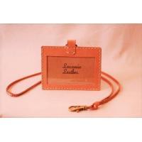 ◇商品名 : 本革  ネームホルダー IDケース ◇ブランド: Laramie Leather ◇サ...