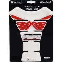 KEITI ADDITION ケイティ TH015 タンクパッド ホンダタイプ レッド/ホワイト