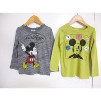 ブランド:F.O.KIDS(エフオーキッズ)  商品名:DY4柄ミッキーTシャツ  カラー:GY.グ...