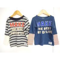 ブランド:F.O.KIDS(エフオーキッズ)  商品名:レイヤードTシャツ  カラー:BO.ボーダー...