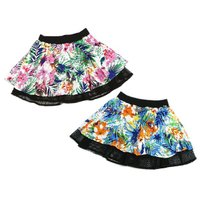 ブランド:JENNI(ジェニィ)  商品名:レーヨンPtスカート  カラー:オフ(11)/ブルー(5...