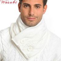 【Ce&Ce】ケーブル編みのスヌードです。画像の様に白いセーターにお似合いだと思います!飾り...