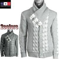 Ce&Ce】  前回好評につき完売した商品のニューバージョンです。  ケーブル編みニットジャ...