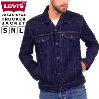 リーバイス メンズ ジャケット アウター  LEVIS 72334-01L34 トラッカージャケット...
