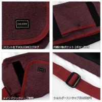 ボルコム カジュアル メンズ ショルダー バッグ VOLCOM D68314JA キャンバス メッセンジャー バッグ