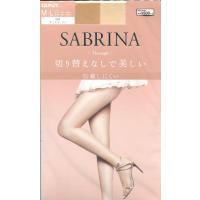 サブリナ ストッキング スルー 切り替えなしで美しい (M-L・L-LL)(全6色)(日本製) シアータイツ グンゼ