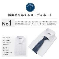 ワイシャツ ネクタイ セット 毎日忙しいビジネスマンに贈る コーディネート メンズ 紳士 新生活