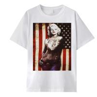 パロディ プリント Tシャツ 男女兼用 ユニセックス ペア 大きめサイズ ストリート 人気 リゾート 3704mt007