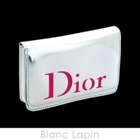 【ノベルティ】 クリスチャンディオール Dior コスメポーチ #シルバー [383295]