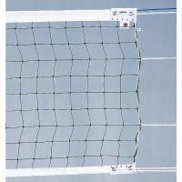●国際バレーボール連盟のルールに対応した上部白帯7cm巾、下部白帯5cm巾のバレーボールネット。 ●...