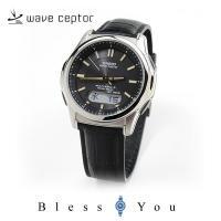 弊社は、CASIO 正規代理店です。 ソーラー電波腕時計 メンズ カシオ ウェーブセプター 父の日 ...