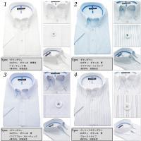 おしゃれ半袖ワイシャツ yシャツ HIROKO KOSHINO ヒロココシノ クールビズ 綿100% 形態安定 M/L/LL ボタンダウン ワイドカラー