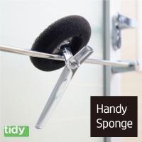 水垢や皮脂汚れをかき落とす、お風呂掃除専用スポンジです。
