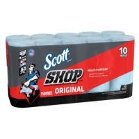 【送料無料】Scott SHOP TOWELS 『スコット カーショップタオル』 10個 55枚x10本 10ロール ペーパーウエス ペーパータオル 10巻 業務用 カー用品 多目的 万能