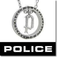 【20%OFF:送料無料】POLICE ポリス AVALON ゴシックPペンダント 20941PSS...