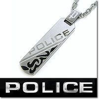 【20%OFF:送料無料】POLICE ポリス DUALITY プレートペンダント 24645PSB...