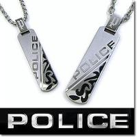 【送料無料】 POLICE ポリス ペアネックレス メンズ レディース DUALITY プレートペン...
