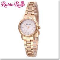 【送料無料】RubinRosa ルビンローザ 腕時計 レディース ソーラーウォッチ R009SOLP...