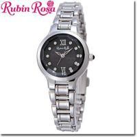 【送料無料】RubinRosa ルビンローザ 腕時計 レディース ソーラーウォッチ R013SOLS...