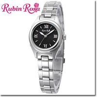 【送料無料】RubinRosa ルビンローザ 腕時計 レディース ソーラーウォッチ R014SOLS...