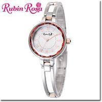 【送料無料】RubinRosa ルビンローザ 腕時計 レディース ソーラーウォッチ R015SOLT...
