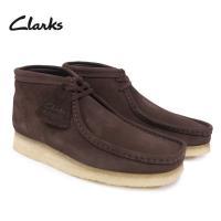 ブランド クラークス ワラビーブーツ BOOTS スエードレザー 靴 メンズ 26103658 おし...