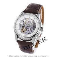 時計をしたまま、ダイナミックなダイヤル開口部から精緻な機械式ムーブメントの世界が鑑賞できる40ミリ自...
