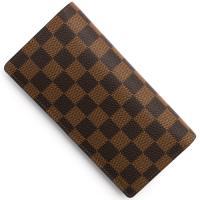 ルイヴィトンの【ダミエ ポルトフォイユ ブラザ】長財布です。『ダミエ』の歴史は、モノグラムよりも古く...