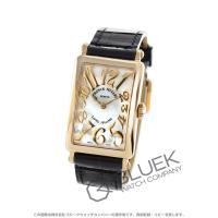 フランクミュラーを代表する角形時計の定番ロングアイランド。スペード指針の古典的な意匠と手首を包み込む...