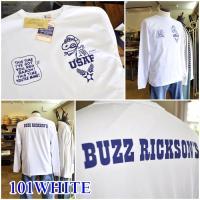 バズリクソンズ BUZZRICKSONS  長袖Tシャツ ロンT アメカジ  67840 スヌーピー コラボ 東洋エンタープライズ アメリカ製