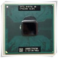 【中古良品】ノート用CPU インテル P8700 3M 2.53GHz 1066MHz モバイル中古...