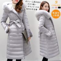 ボリューム感のあるわりに軽いダウンコートは毎年の冬定番! 薄手で軽量なのにダウン70%の贅沢な暖かさ...