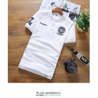 半袖ポロシャツ ワッペン アメカジ風 半袖 シンプル メンズ トップス 大きなサイズ LL 3L 4L 5L 6L【063-s206a】【即納:2-5日】メ込