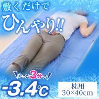 白くまきぶん 流氷マット 枕パッド 枕用 30x40cm