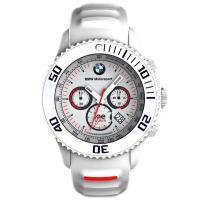 品質保証のBMW純正  BMW Motorsport ice watch クロノグラフ ホワイト  ...