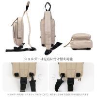 ポリ キャンバス シンプル ボディー バッグ ya160264
