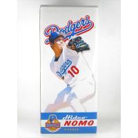 ロサンゼル・ドジャースに所属していた野茂英雄選手のバブルヘッドです。2002年に作られたものです。 ...