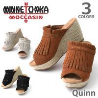 【ブランド】 【MINNETONKA/ミネトンカ】  【モデル名】 QUINN/クイン  【カラー】...