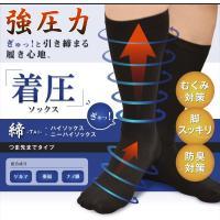 男もつらい足の浮腫み対策、メンズ専用着圧靴下です。筋肉は血管やリンパ管を収縮させ循環させるポンプの役...