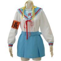 アニメ キャラクター 長袖制服 5点セット S〜5Lサイズあり costume347 衣装